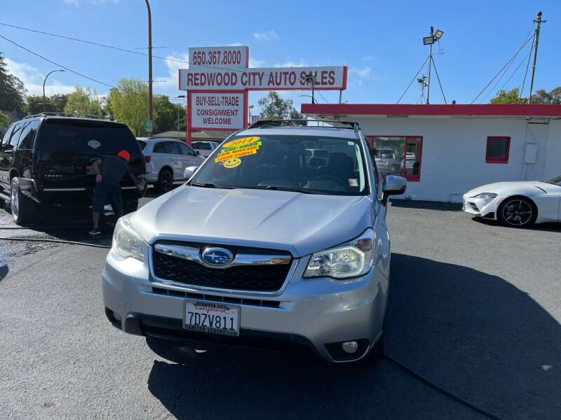 2014 Subaru Forester for sale at Redwood City Auto Sales in Redwood City CA