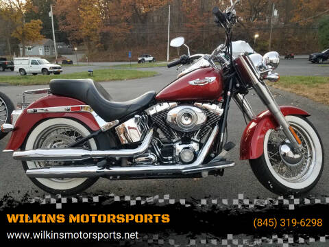 2008 Harley-Davidson Softail Deluxe for sale at WILKINS MOTORSPORTS in Brewster NY