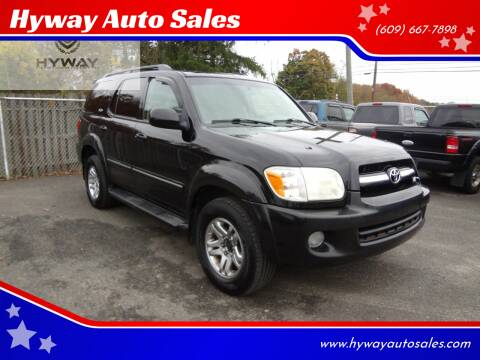 2005 Toyota Sequoia for sale at Hyway Auto Sales in Lumberton NJ