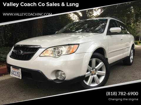 2008 Subaru Outback for sale at Valley Coach Co Sales & Lsng in Van Nuys CA