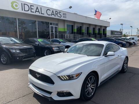 2016 Ford Mustang for sale at Ideal Cars in Mesa AZ