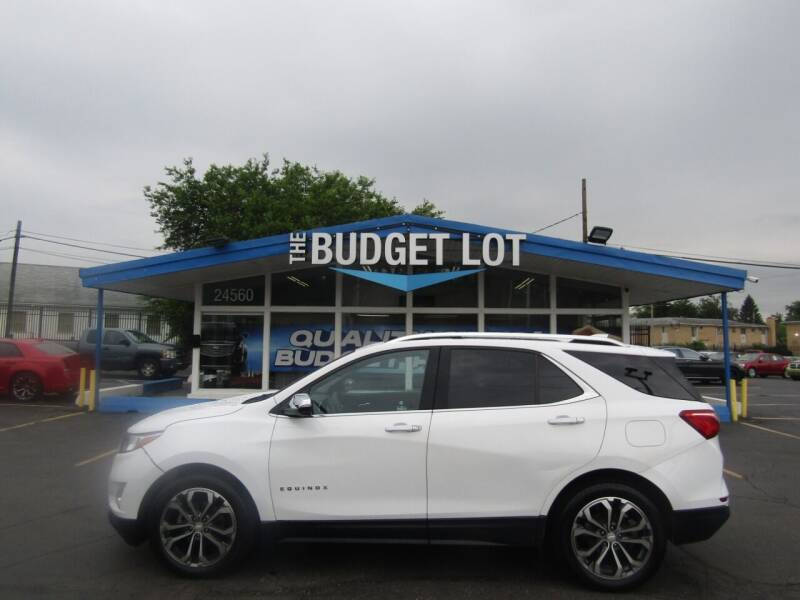 2018 Chevrolet Equinox for sale at THE BUDGET LOT in Detroit MI