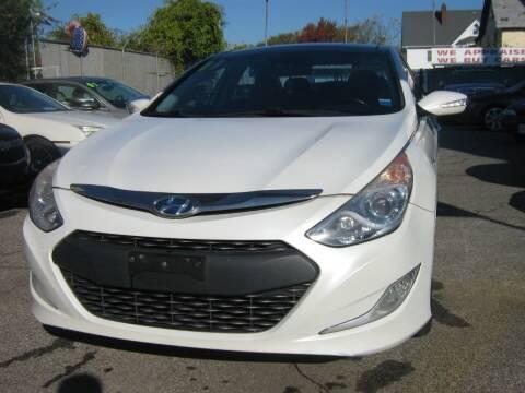 2011 Hyundai Sonata Hybrid for sale at JERRY'S AUTO SALES in Staten Island NY