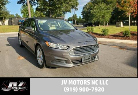 2014 Ford Fusion for sale at JV Motors NC LLC in Raleigh NC