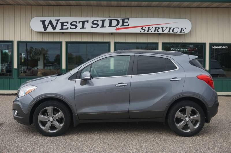 2014 Buick Encore for sale at West Side Service in Auburndale WI