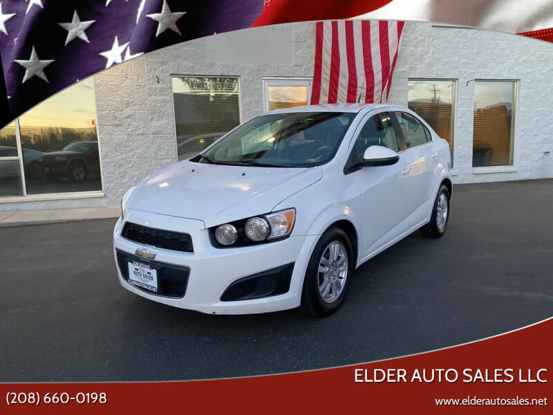 2012 Chevrolet Sonic for sale at ELDER AUTO SALES LLC in Coeur D'Alene ID