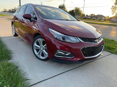 2017 Chevrolet Cruze for sale at Wyss Auto in Oak Creek WI