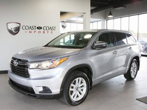 2016 Toyota Highlander for sale at Coast to Coast Imports in Fishers IN