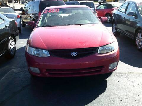 1999 Toyota Camry Solara for sale at JIMS AUTO MART INC in Milwaukee WI