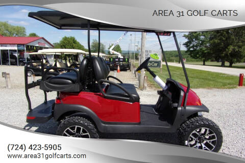 2021 Club Car, Lifted Golf Cart Villager 4, Gas for sale at Area 31 Golf Carts - Gas 4 Passenger in Acme PA