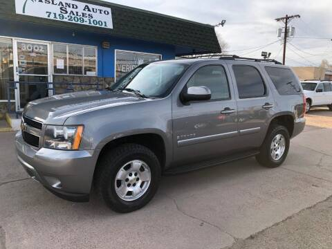2008 Chevrolet Tahoe for sale at Island Auto Sales in Colorado Springs CO