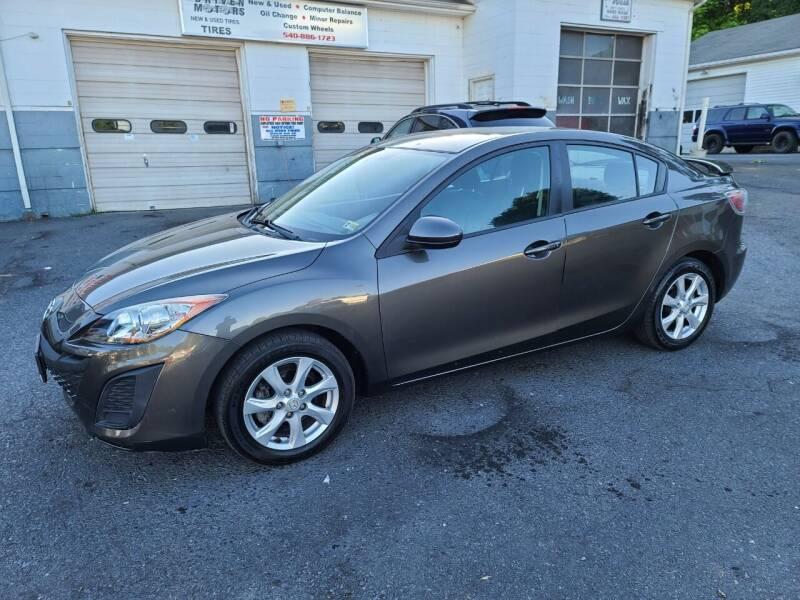 2010 Mazda MAZDA3 for sale at Driven Motors in Staunton VA