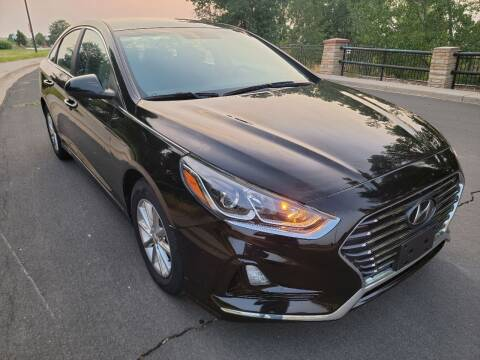 2018 Hyundai Sonata for sale at Red Rock's Autos in Denver CO