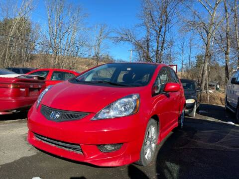 2010 Honda Fit for sale at D & M Auto Sales & Repairs INC in Kerhonkson NY