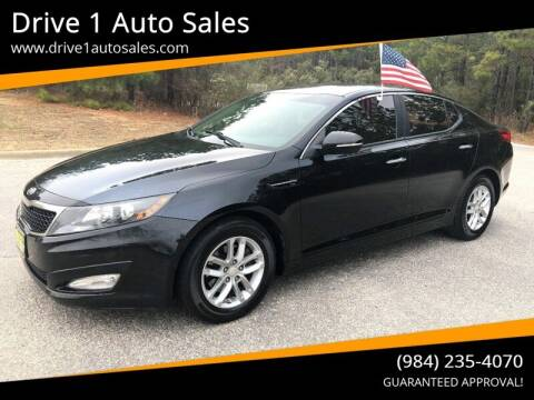 2013 Kia Optima for sale at Drive 1 Auto Sales in Wake Forest NC