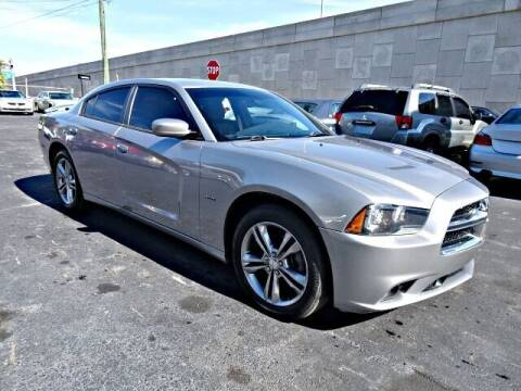 2014 Dodge Charger for sale at DONNY MILLS AUTO SALES in Largo FL