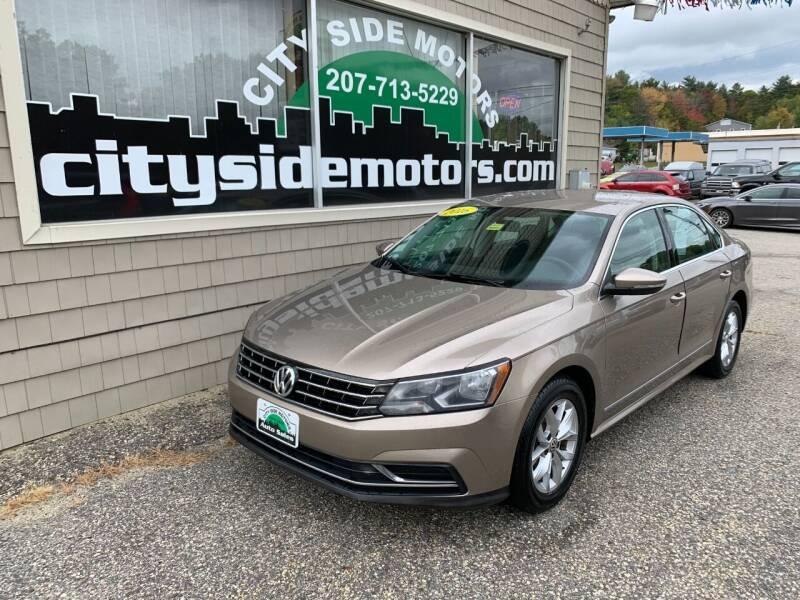 2016 Volkswagen Passat for sale at CITY SIDE MOTORS in Auburn ME