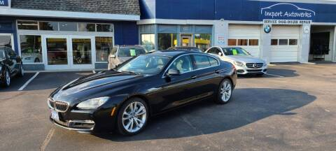 2013 BMW 6 Series for sale at Import Autowerks in Portsmouth VA