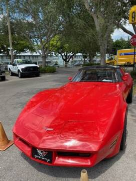 1981 Chevrolet Corvette for sale at DAN'S DEALS ON WHEELS in Davie FL