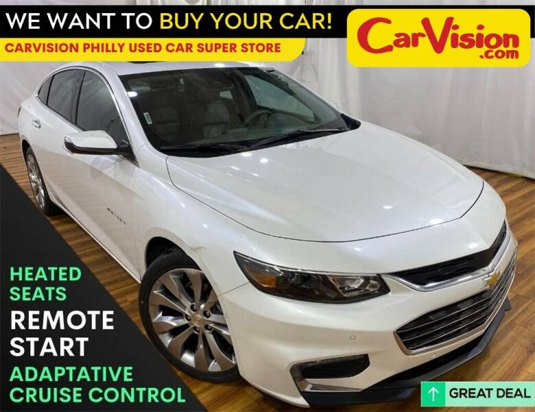 2017 Chevrolet Malibu for sale at Car Vision Mitsubishi Norristown - Car Vision Philly Used Car SuperStore in Philadelphia PA