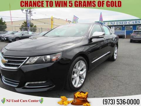2019 Chevrolet Impala for sale at New Jersey Used Cars Center in Irvington NJ