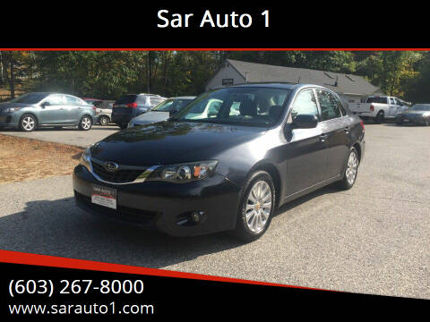 2009 Subaru Impreza for sale at Sar Auto 1 in Belmont NH