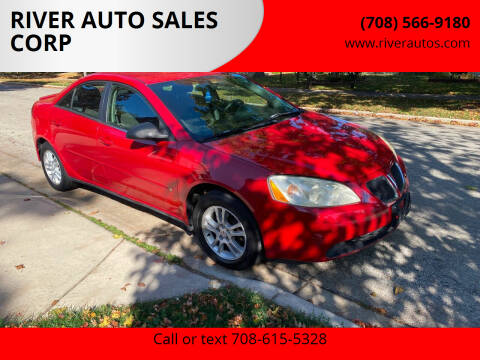 2006 Pontiac G6 for sale at RIVER AUTO SALES CORP in Maywood IL