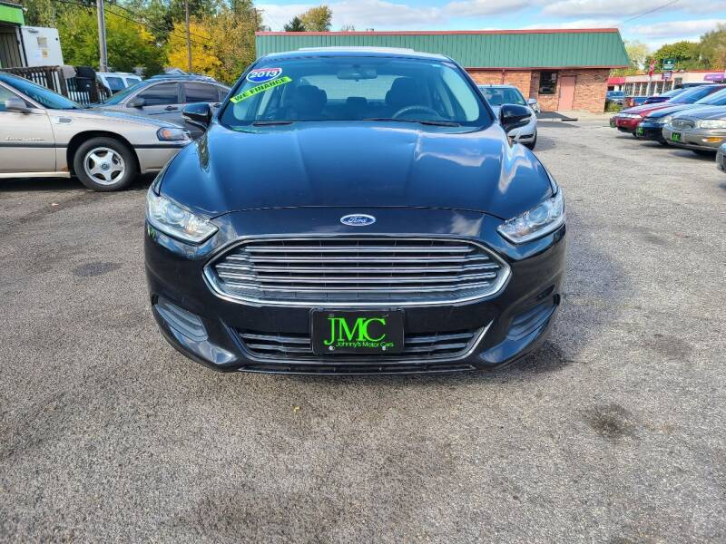 2013 Ford Fusion for sale at Johnny's Motor Cars in Toledo OH