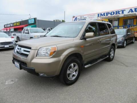 2008 Honda Pilot for sale at Import Auto World in Hayward CA