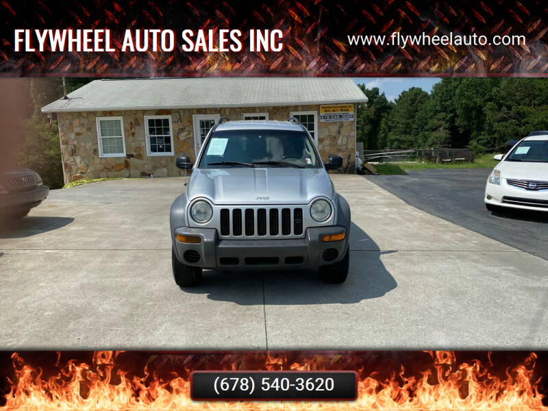 2002 Jeep Liberty for sale at Flywheel Auto Sales Inc in Woodstock GA