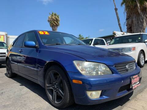2002 Lexus IS 300 for sale at CARCO SALES & FINANCE #2 in Chula Vista CA