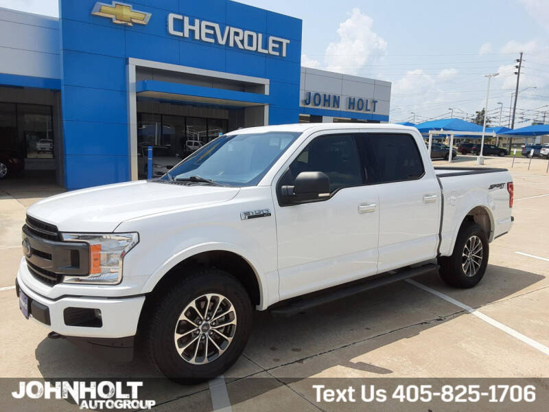 2018 Ford F-150 for sale at JOHN HOLT AUTO GROUP, INC. in Chickasha OK