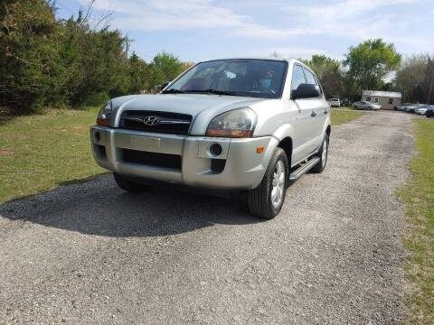 2009 Hyundai Tucson for sale at The Car Shed in Burleson TX