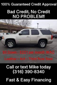2009 GMC Yukon for sale at Affordable Mobility Solutions, LLC - Standard Vehicles in Wichita KS
