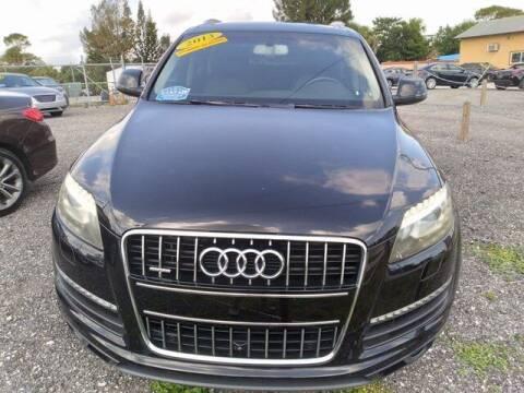 2013 Audi Q7 for sale at Car Spot Of Central Florida in Melbourne FL