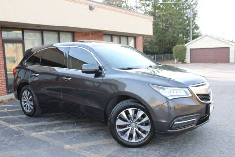 2015 Acura MDX for sale at JZ Auto Sales in Summit IL