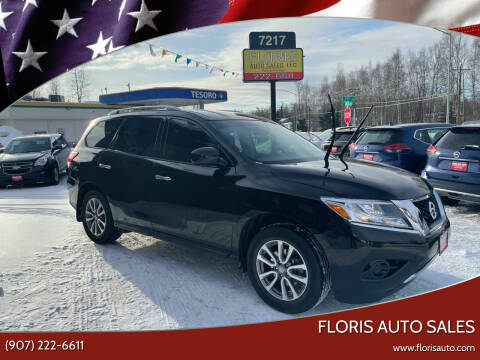 2016 Nissan Pathfinder for sale at FLORIS AUTO SALES in Anchorage AK