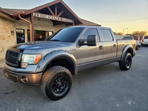 2010 Ford F-150 for sale at Performance Motors Killeen Second Chance in Killeen TX