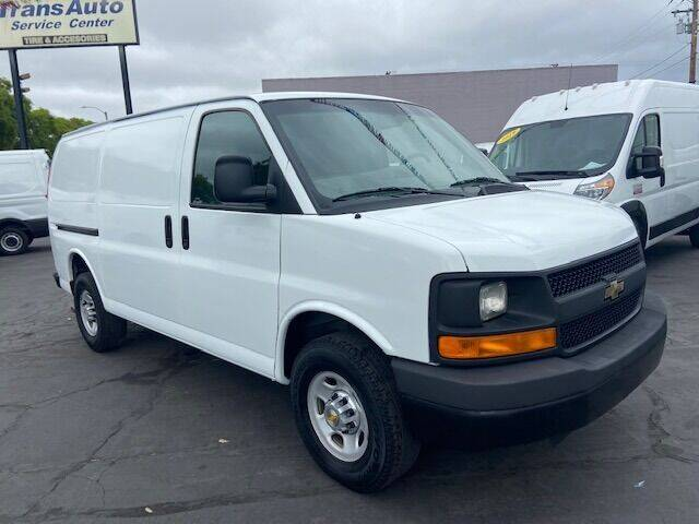 2011 Chevrolet Express Cargo for sale at Auto Wholesale Company in Santa Ana CA