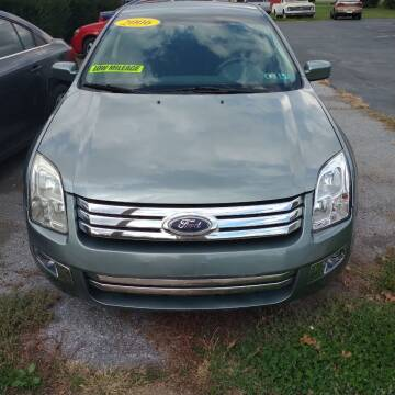 2006 Ford Fusion for sale at BRAUNS AUTO SALES in Pottstown PA
