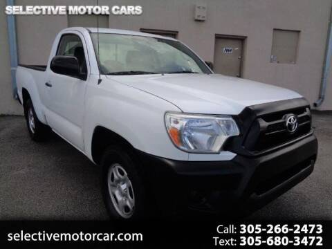 2012 Toyota Tacoma for sale at Selective Motor Cars in Miami FL