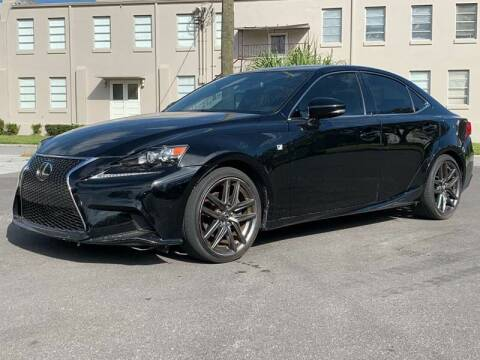 2014 Lexus IS 250 for sale at Consumer Auto Credit in Tampa FL