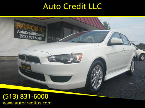 2013 Mitsubishi Lancer for sale at Auto Credit LLC in Milford OH