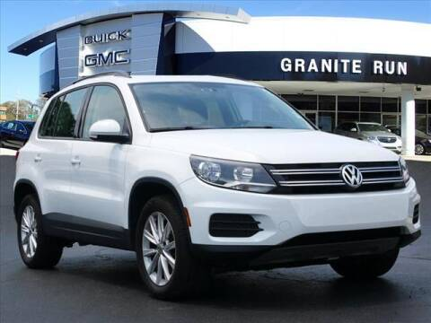 2018 Volkswagen Tiguan Limited for sale at GRANITE RUN PRE OWNED CAR AND TRUCK OUTLET in Media PA