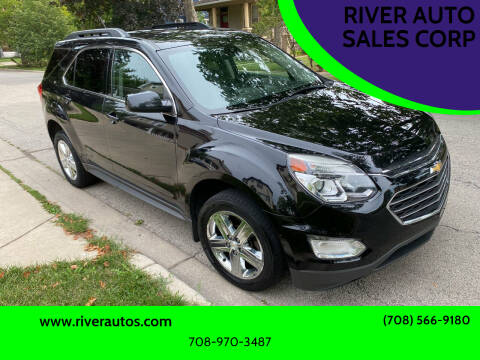 2016 Chevrolet Equinox for sale at RIVER AUTO SALES CORP in Maywood IL