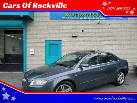 2007 Audi A4 for sale at Cars Of Rockville in Rockville MD