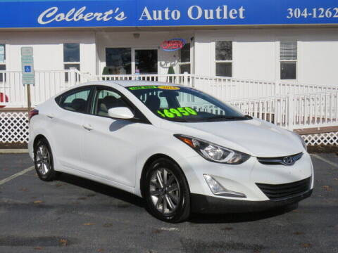 2014 Hyundai Elantra for sale at Colbert's Auto Outlet in Hickory NC