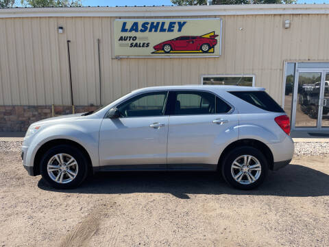 2015 Chevrolet Equinox for sale at Lashley Auto Sales in Mitchell NE