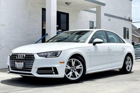 2018 Audi A4 for sale at Fastrack Auto Inc in Rosemead CA