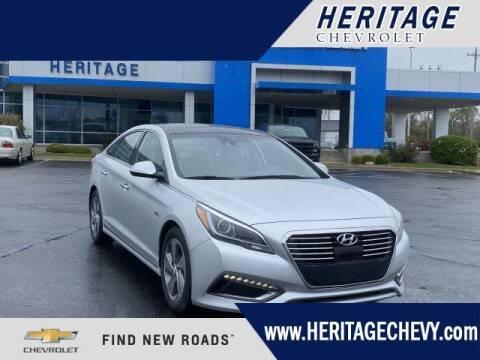 2016 Hyundai Sonata Hybrid for sale at HERITAGE CHEVROLET INC in Creek MI